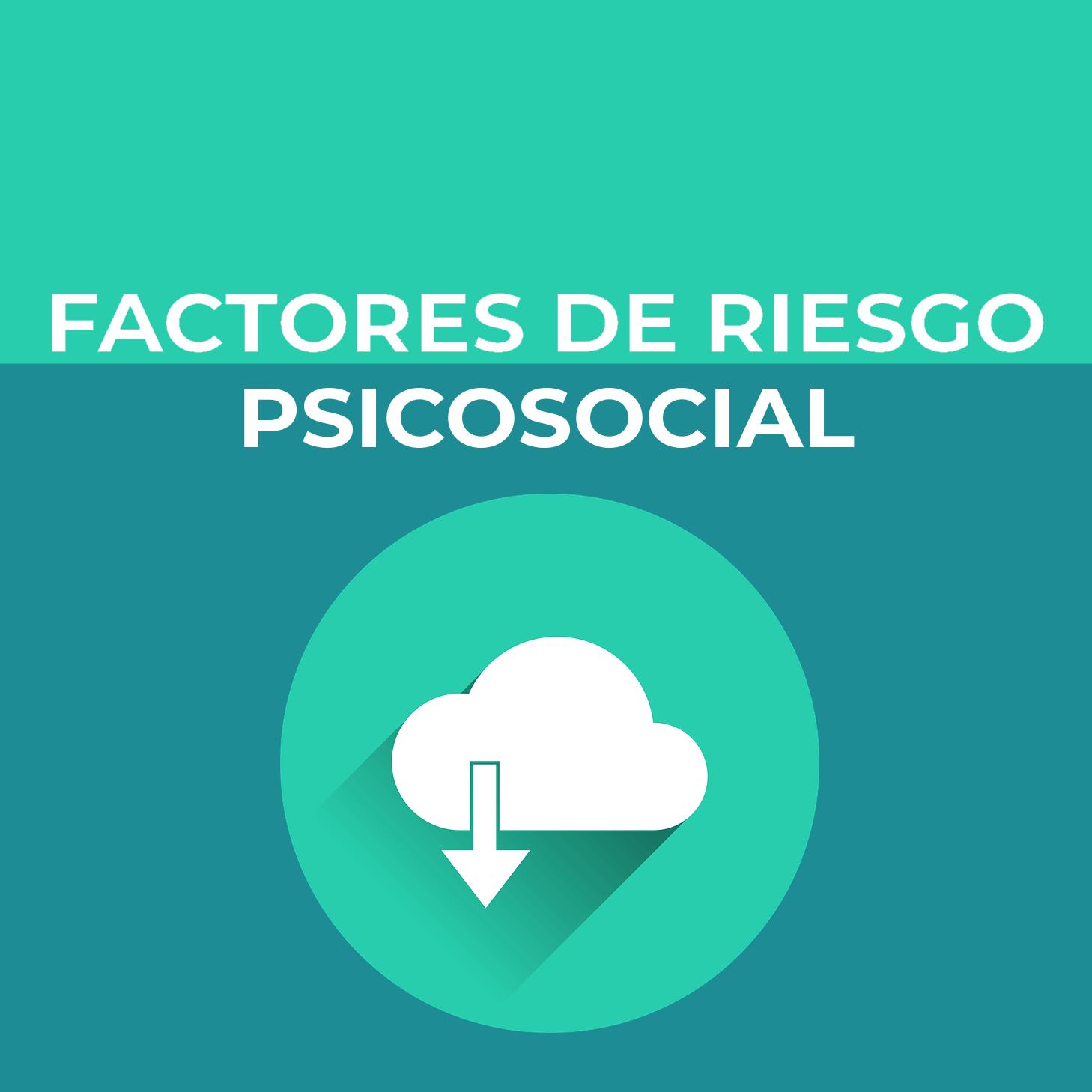 Infografía factores de riesgo psicosocial