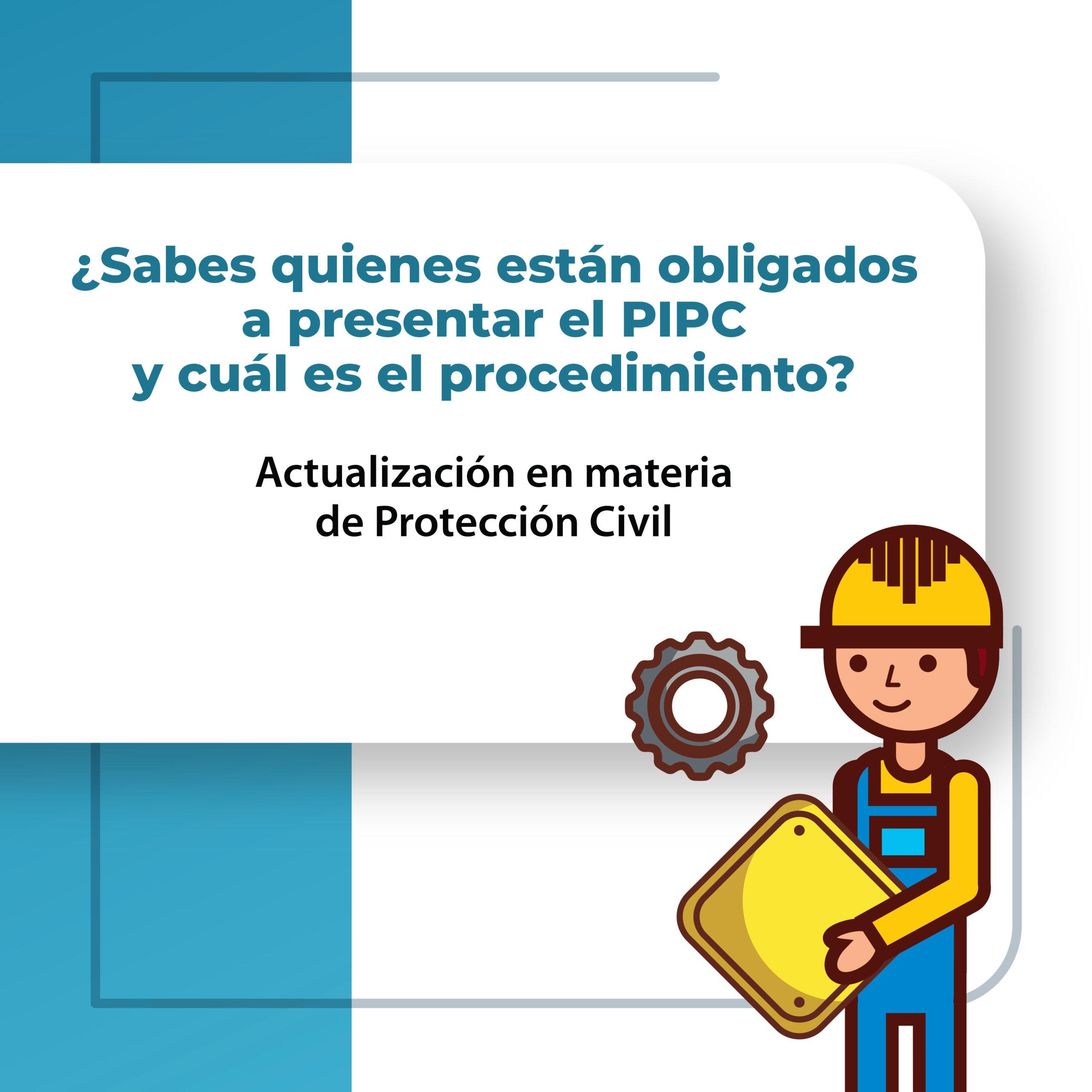 Actualización en materia de Protección Civil