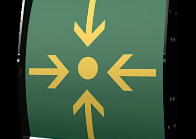 bandera punto r premium