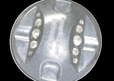 boton multivista aluminio
